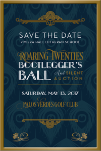 Spring Gala Save the Date PNG